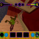 PSX PlayStation Scooby Doo Night of 100 Frights Prototype Level 3 Wolf Ends Lodge Screenshot (10)