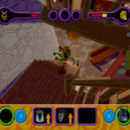 PSX PlayStation Scooby Doo Night of 100 Frights Prototype Level 3 Wolf Ends Lodge Screenshot (12)