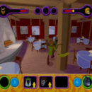 PSX PlayStation Scooby Doo Night of 100 Frights Prototype Level 3 Wolf Ends Lodge Screenshot (13)