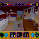 PSX PlayStation Scooby Doo Night of 100 Frights Prototype Level 3 Wolf Ends Lodge Screenshot (14)