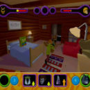 PSX PlayStation Scooby Doo Night of 100 Frights Prototype Level 3 Wolf Ends Lodge Screenshot (15)
