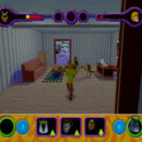 PSX PlayStation Scooby Doo Night of 100 Frights Prototype Level 3 Wolf Ends Lodge Screenshot (17)