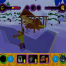 PSX PlayStation Scooby Doo Night of 100 Frights Prototype Level 3 Wolf Ends Lodge Screenshot (18)