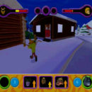 PSX PlayStation Scooby Doo Night of 100 Frights Prototype Level 3 Wolf Ends Lodge Screenshot (19)