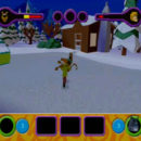 PSX PlayStation Scooby Doo Night of 100 Frights Prototype Level 3 Wolf Ends Lodge Screenshot (21)
