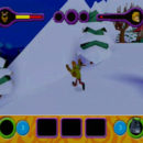 PSX PlayStation Scooby Doo Night of 100 Frights Prototype Level 3 Wolf Ends Lodge Screenshot (23)