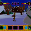 PSX PlayStation Scooby Doo Night of 100 Frights Prototype Level 3 Wolf Ends Lodge Screenshot (24)