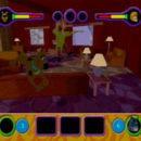 PSX PlayStation Scooby Doo Night of 100 Frights Prototype Level 3 Wolf Ends Lodge Screenshot (8)