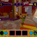 PSX PlayStation Scooby Doo Night of 100 Frights Prototype Level 3 Wolf Ends Lodge Screenshot (9)