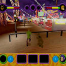PSX PlayStation Scooby Doo Night of 100 Frights Prototype Level 4 Frightland Park Screenshot (1)