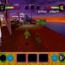 PSX PlayStation Scooby Doo Night of 100 Frights Prototype Level 4 Frightland Park Screenshot (7)