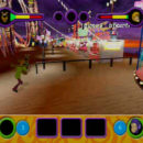 PSX PlayStation Scooby Doo Night of 100 Frights Prototype Level 4 Frightland Park Screenshot (9)