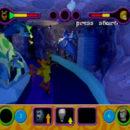 PSX PlayStation Scooby Doo Night of 100 Frights Prototype Level 5 Main Street Screenshot (14)