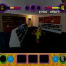 PSX PlayStation Scooby Doo Night of 100 Frights Prototype Level 5 Main Street Screenshot (16)