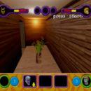 PSX PlayStation Scooby Doo Night of 100 Frights Prototype Level 5 Main Street Screenshot (18)
