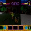 PSX PlayStation Scooby Doo Night of 100 Frights Prototype Level 5 Main Street Screenshot (2)