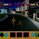 PSX PlayStation Scooby Doo Night of 100 Frights Prototype Level 5 Main Street Screenshot (25)