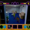 PSX PlayStation Scooby Doo Night of 100 Frights Prototype Level 5 Main Street Screenshot (3)