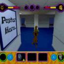 PSX PlayStation Scooby Doo Night of 100 Frights Prototype Level 5 Main Street Screenshot (4)