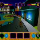 PSX PlayStation Scooby Doo Night of 100 Frights Prototype Level 5 Main Street Screenshot (9)