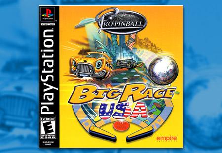 PSX PlayStation Pro-Pinball: Big Race USA