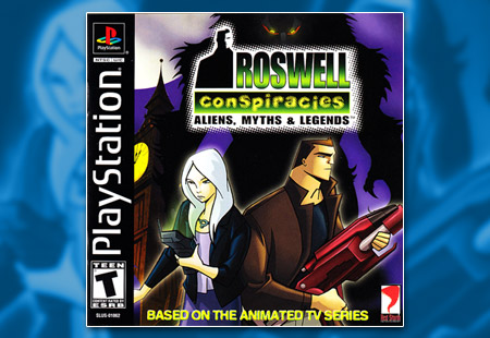 PSX PlayStation Roswell Conspiracies - Aliens Myths & Legends