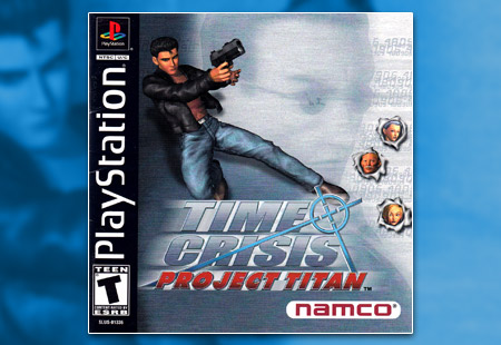 PSX PlayStation Time Crisis Project Titan