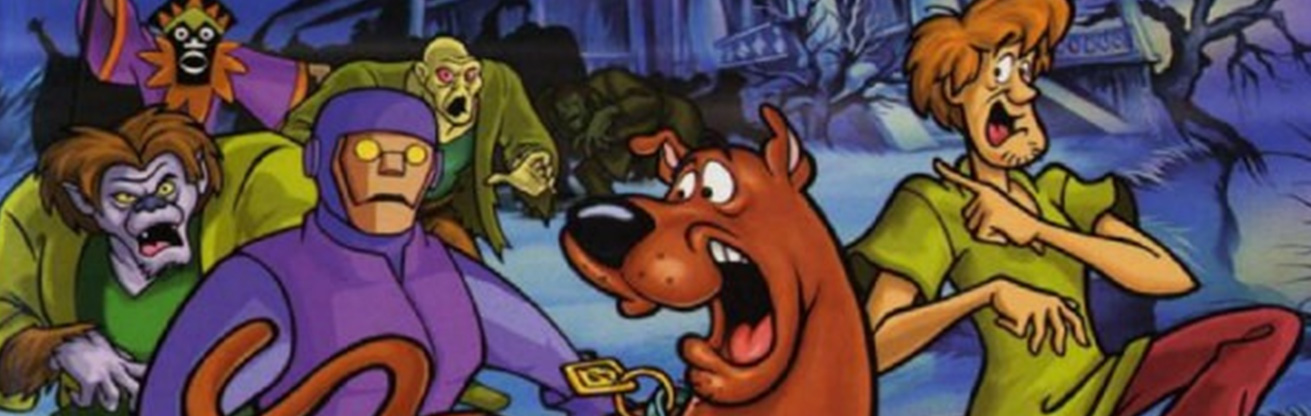 PSX playStation Scooby Doo Night of 100 Frights Article Banner