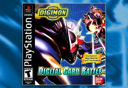 PSX playStation Digimon Digital Card Battle