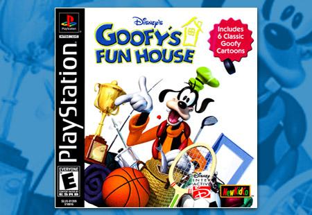 PSX PlayStation Disney's Goofy's Fun House