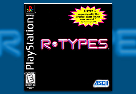 PSX PlayStation R-Types