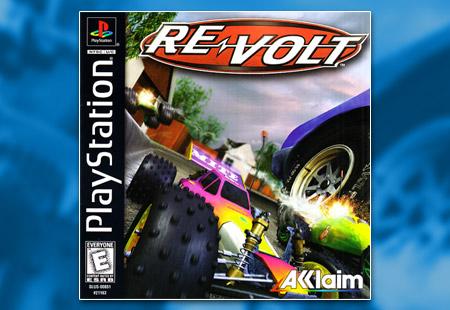 PSX PlayStation Re-Volt Black Label Retail Release