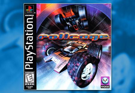 PSX PlayStation Rollcage