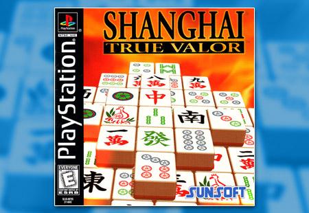 PSX PlayStation Shanghai True Valor