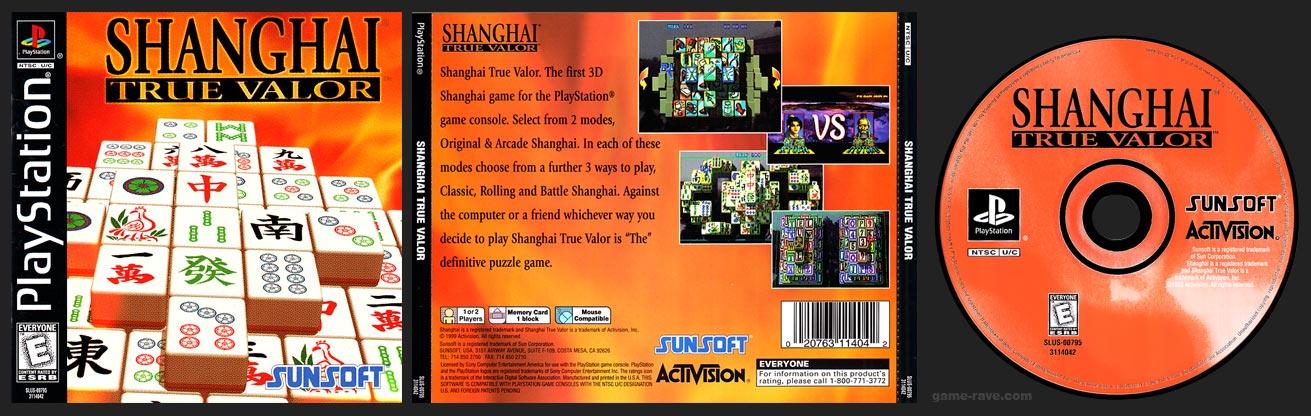 PSX PlayStation Shanghai True Valor Black Label Retail Release