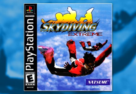 PSX PlayStation Skydiving Extreme