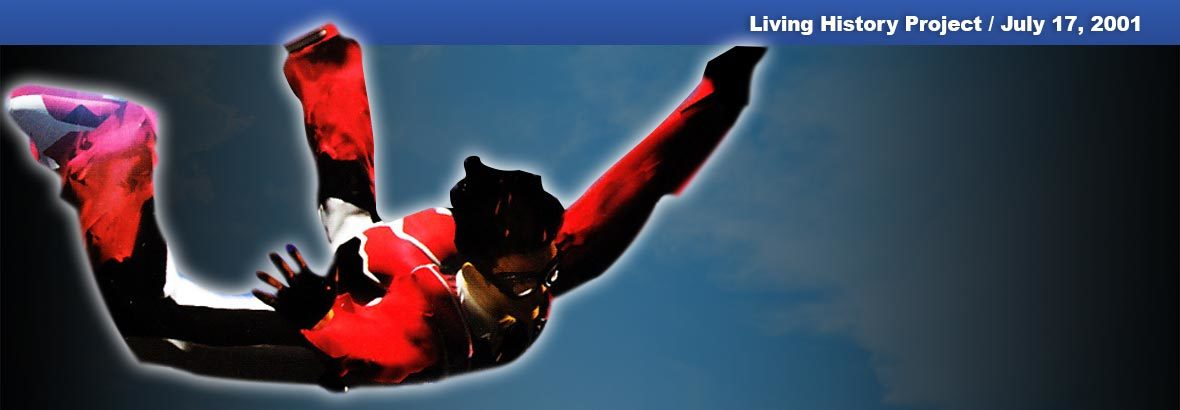 July 17, 2001 New Release – Skydiving Extreme