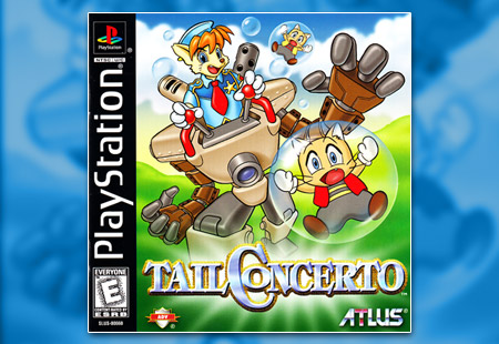 PSX PlayStation Tail Concerto