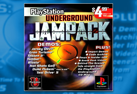 PSX PlayStation PlayStation Underground Jampack Demo