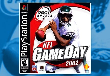 PSX PlayStation NFL GameDay 2002