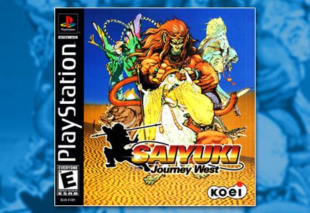 PSX PlayStation Saiyuki: Journey West