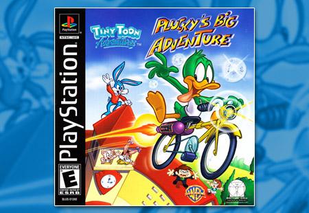 PSX PlayStation Tiny Toons Plucky Big Adventure