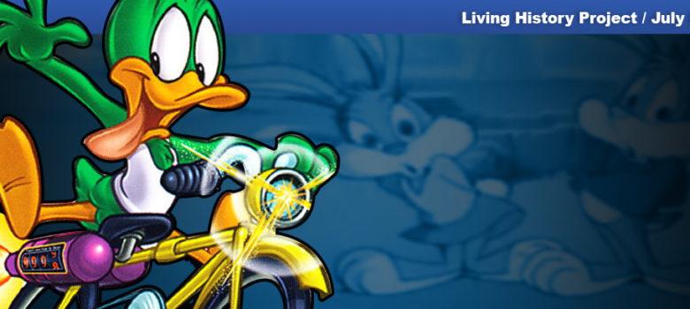 PSX PlayStation Tiny Toons Adventures - Plucky's Big Adventure