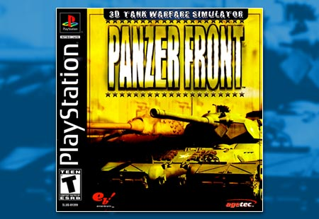 PSX PlayStation Panzer Front