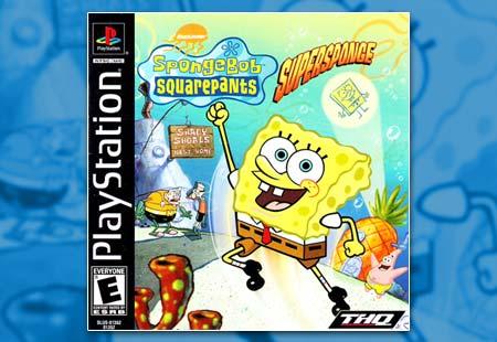 PSX PlayStation Spongebob Squarepants: Supersponge