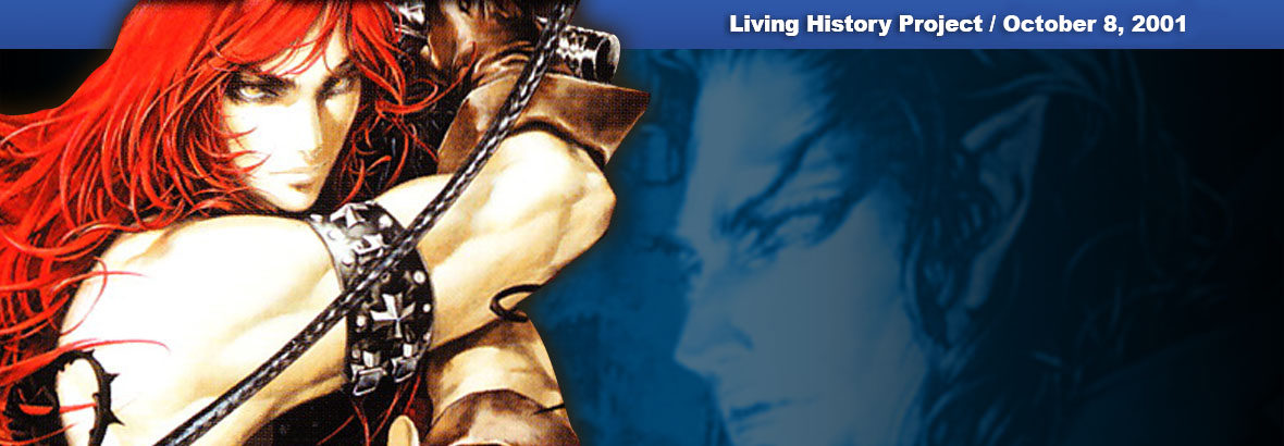 October 8, 2001 New Release: Castlevania Chronicles