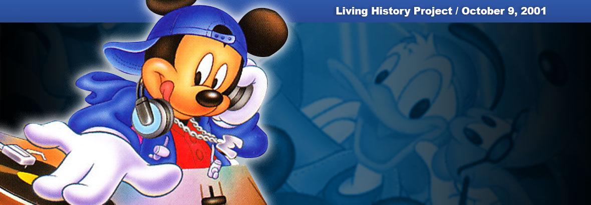 October 9, 2001 New Release: Dance Dance Revolution Disney Mix