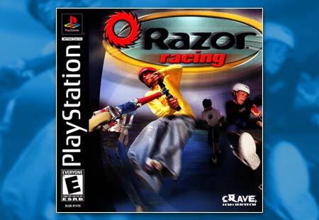 PSX PlayStation Razor Racing