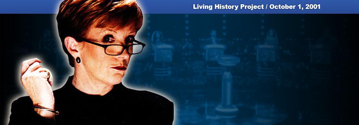 October 1, 2001 New Release: The Weakest Link