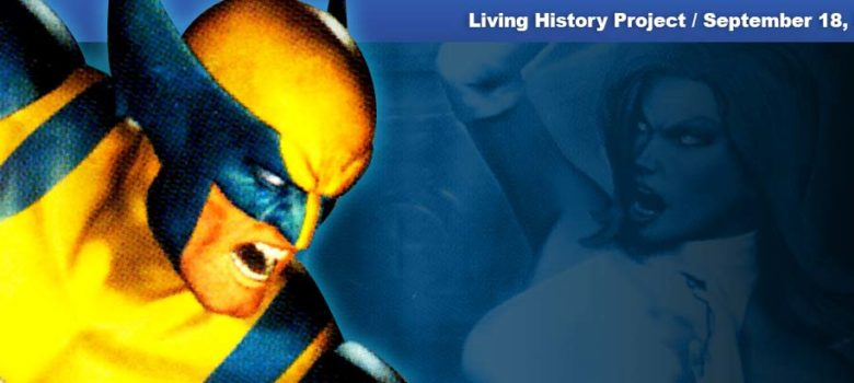 PSX PlayStation X-Men Mutant Academy 2